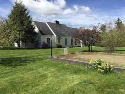 Hanover Single Family Home For Sale: 142 Three Mile Road Road