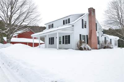 Poultney Single Family Home For Sale: 758 Old Lake Road