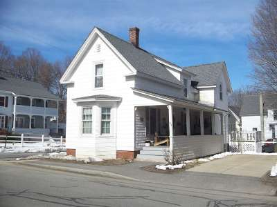 Concord NH Single Family Home For Sale: $212,500