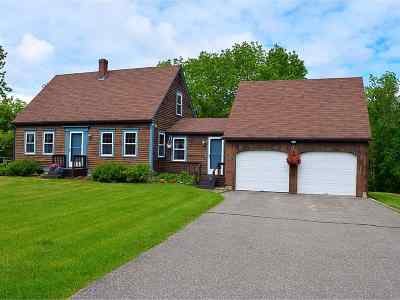 Middlebury Single Family Home For Sale: 13 Brookside Drive