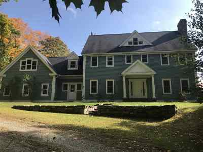Hinesburg Single Family Home For Sale: 208 Coyote Ridge Road