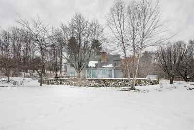 Merrimack County Single Family Home Active Under Contract: 93 High Pond Road