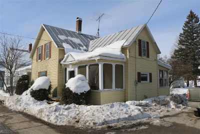 Enosburg Single Family Home Active Under Contract: 39 Archambault Street