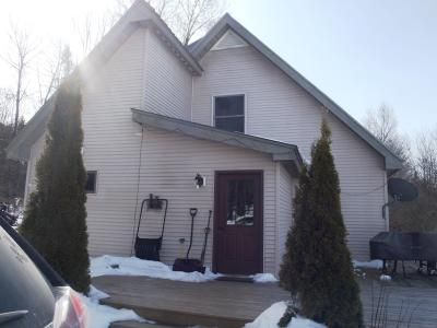 Caledonia County Single Family Home For Sale: 1550 West Hill Road