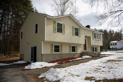 Merrimack Single Family Home Active Under Contract: 11 Jakes Lane