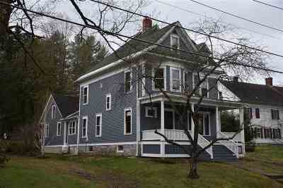 Montpelier Single Family Home For Sale: 33 Liberty Street