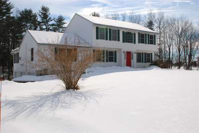 Concord Single Family Home Active Under Contract: 482 Josiah Bartlett Road