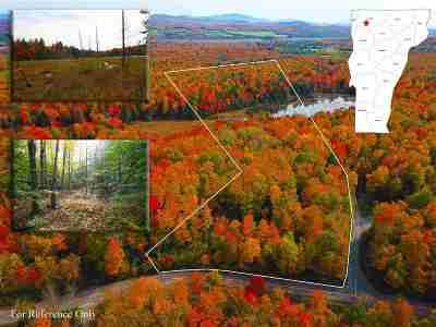 St. Albans Town Residential Lots & Land For Sale: 576 French Hill Road