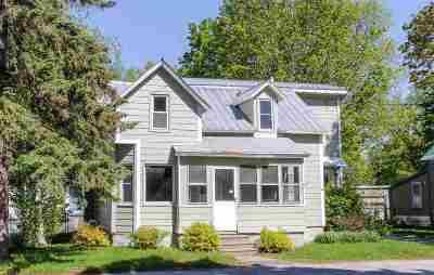 Swanton Single Family Home For Sale: 13 Platt Street