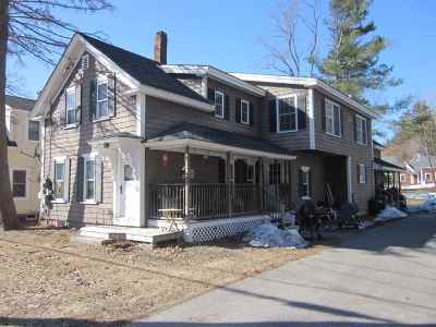 Meredith Multi Family Home Active Under Contract: 32 Pleasant Street