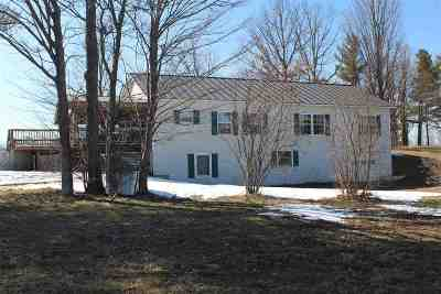 Whiting Single Family Home For Sale: 132 Leicester-Whiting Road