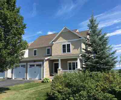 South Burlington Single Family Home Active Under Contract: 148 Braeburn Street