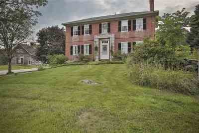 Francestown Single Family Home For Sale: 1519 New Boston Road