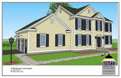 Pembroke Single Family Home For Sale: 39.3 Cross Road
