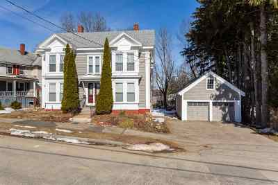 Somersworth Multi Family Home Active Under Contract: 45 Prospect Street
