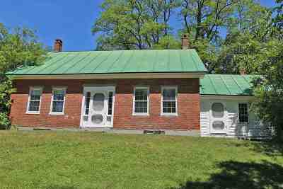 Single Family Home For Sale: 209 Tucker Hill Road