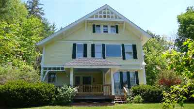 Waterville Valley Single Family Home For Sale: 21 Snow's Mountain Road