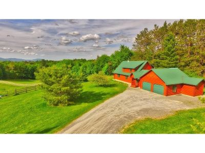 Craftsbury Single Family Home For Sale: 805 Denton Hill Rd