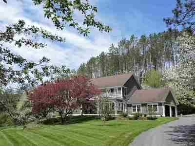 Caledonia County Single Family Home For Sale: 311 Brook Hill
