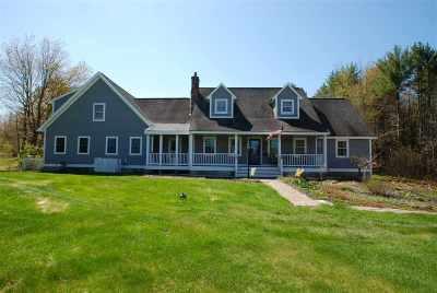 Belknap County Single Family Home For Sale: 1031 New Hampton Road