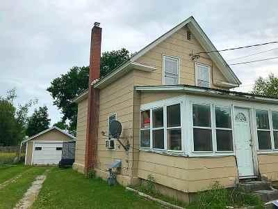 Swanton Single Family Home For Sale: 8 Pine Street