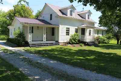 Grand Isle County Single Family Home For Sale: 2510 Lakeview Drive #Homestea