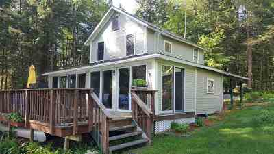 Poultney Single Family Home For Sale: 2092 West Lake Road