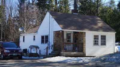 Littleton NH Single Family Home Active Under Contract: $120,000