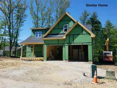 Dover Single Family Home For Sale: Lot 2 Red Barn Drive