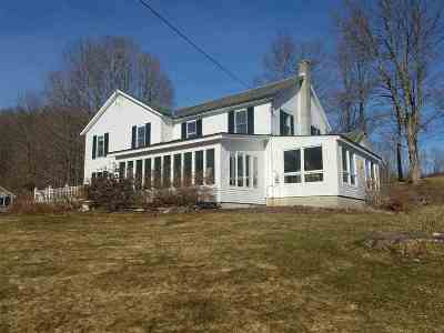 Pawlet Single Family Home For Sale: 2812 Vermont Route 30 Route