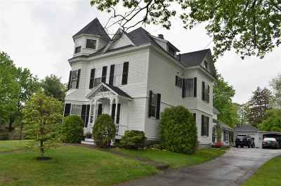 Henniker Single Family Home For Sale: 161 Maple Street