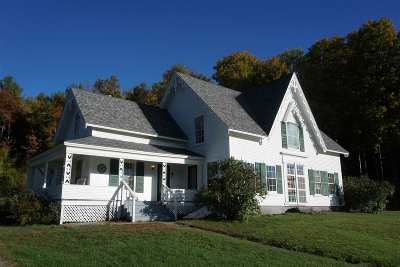 Underhill Single Family Home For Sale: 79 Pleasant Valley Road