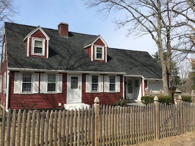 Nashua Single Family Home Active Under Contract: 33 Fifield Street
