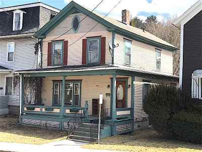 Montpelier Single Family Home Active Under Contract: 8 Jay Street