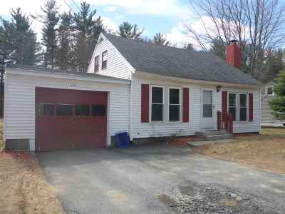 Somersworth Single Family Home For Sale: 152 Blackwater Road