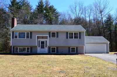 Merrimack Single Family Home Active Under Contract: 4 Bryant Circle