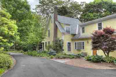 Bedford Single Family Home Active Under Contract: 76 Bedford Center Road