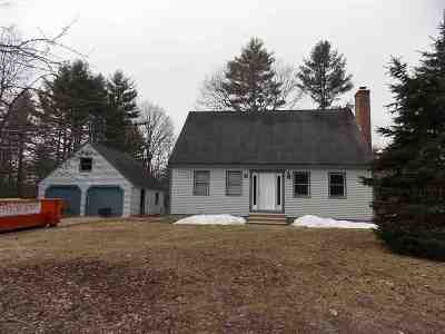Epsom Single Family Home Active Under Contract: 363 Goboro Road
