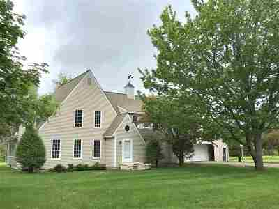 Hanover Single Family Home For Sale: 100 Three Mile Road Road #Map 10,