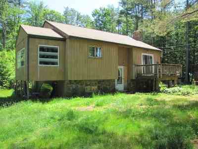 Sanbornton Single Family Home For Sale: 26 Hueber Drive