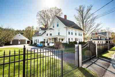 Campton Single Family Home For Sale: 1357 New Hampshire Rt 175