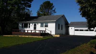 Grand Isle County Single Family Home For Sale: 6895 Us Route 2