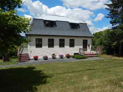 Piermont Single Family Home For Sale: 117 Nh Route 10