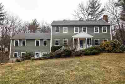 Bedford Single Family Home Active Under Contract: 56 Quincy Drive
