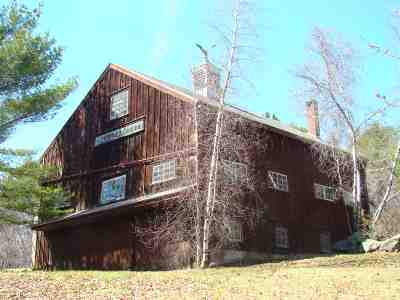 Holderness Single Family Home For Sale: 1079 Us Route 3