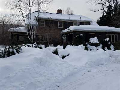 Waterville Valley Single Family Home For Sale: 30 Snow's Mountain Road