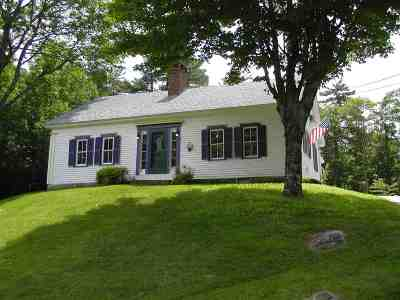 Moultonborough Single Family Home For Sale: 822 Whittier Highway