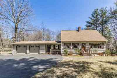 Milford Single Family Home Active Under Contract: 144 Whitten Road