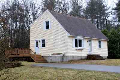 Merrimack Single Family Home Active Under Contract: 7 Iris Drive