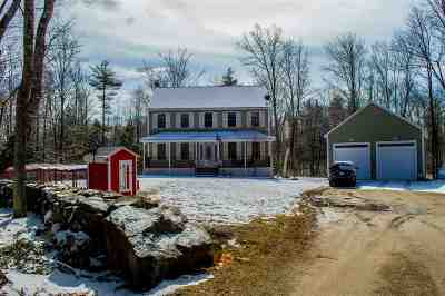 Francestown Single Family Home Active Under Contract: 165 King Hill Rd. Road
